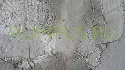 Как выровнить стену и потолок