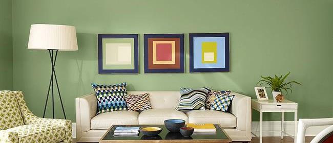 Зеленая гостиная - фото