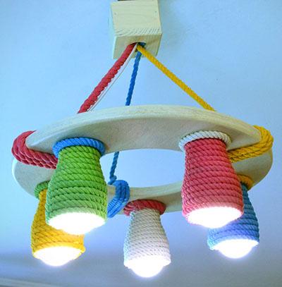 Люстры для детской - дизайн