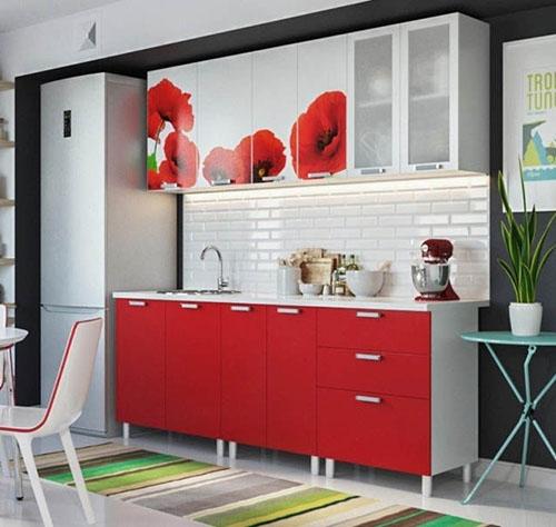 Мебель для кухни с фотопечатью
