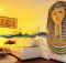 Интерьер гостиной в египетском стиле