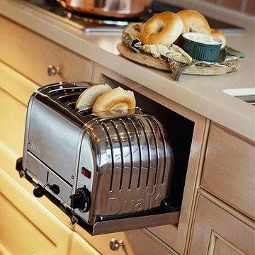 Как расположить бытовую технику на кухне