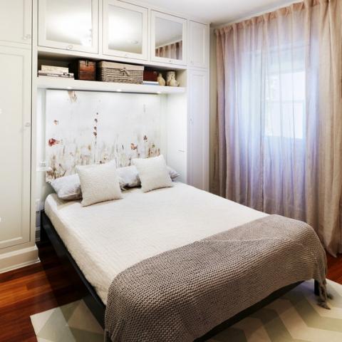 Маленькая спальня интерьер