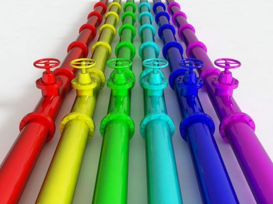 Очистка труб от краски