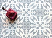 Энкаустическая плитка в ванной