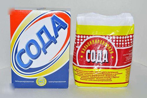 Как почистить стиральную машину содой