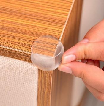 Силиконовые уголки на мебель