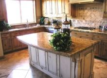 Дизайн кухни из камня