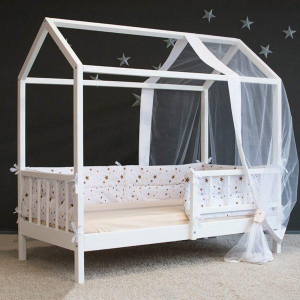 Кровать-домик с балдахином